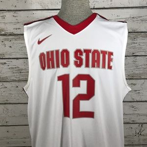 Ohio State Buckeyes Nike mens basketball jersey xl